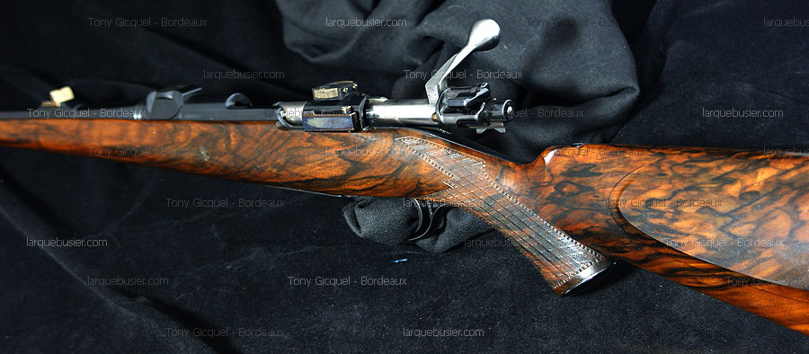 The hunting rifles manufactured by Tony Gicquel - craftsman gunmaker