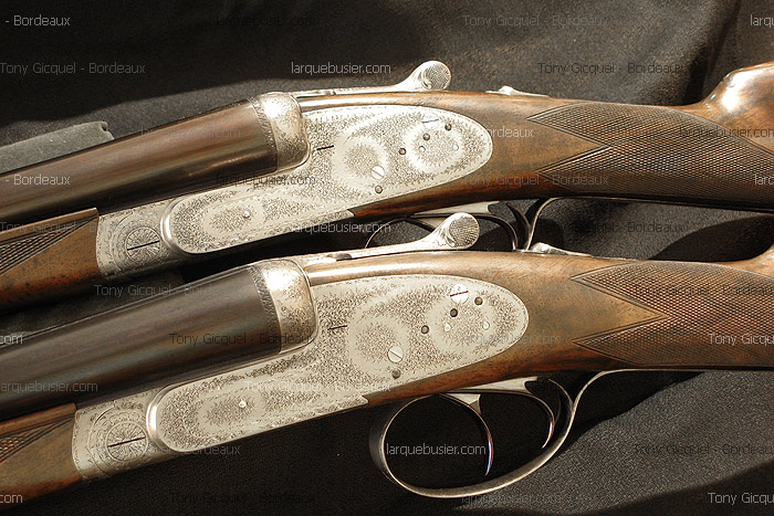 bda516810a8 The side by side guns manufactured by Tony Gicquel - craftsman ...